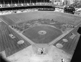 Dwindling attendance figures at Brooklyn's Ebbets Field underlined Walter O'Malley's search for a new ballpark. Another factor was the emergence of the Milwaukee Braves, who moved from Boston in 1953 and enjoyed record attendance figures at Milwaukee County Stadium.