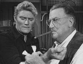 "Walter O'Malley made a cameo appearance as a doctor (Dr. Woods) on the television program ""Branded,"" which starred former Dodger minor league prospect Chuck Connors. The ""Bar Sinister"" episode initially aired on Oct. 10, 1965."