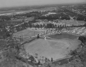 Walter O'Malley's many improvements at the Dodgers' spring training site in Vero Beach included designing and building Holman Stadium, which opened on March 11, 1953.