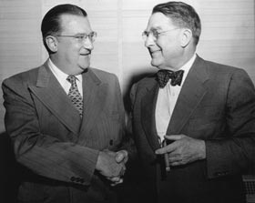 Walter O'Malley and Branch Rickey would emerge as two of the most influential baseball executives of the 20th Century.