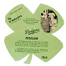 St. Patrick's Day Parties - A Legend At Dodgertown