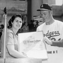 Wyman's Historic Efforts Bring Dodgers to Los Angeles