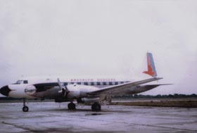 The Dodgers purchased a twin-engine, Convair (Model 440) plane on Jan. 4, 1957.