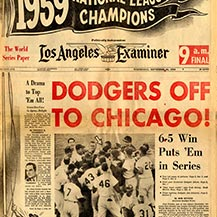 "1959: ""We go to Chicago!"""