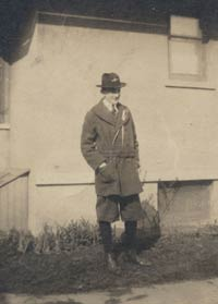 Walter O'Malley as a Boy Scout circa 1916.