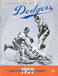 The 1959 Dodgers won their first championship in Los Angeles, defeating the Chicago White Sox in six games in the World Series.