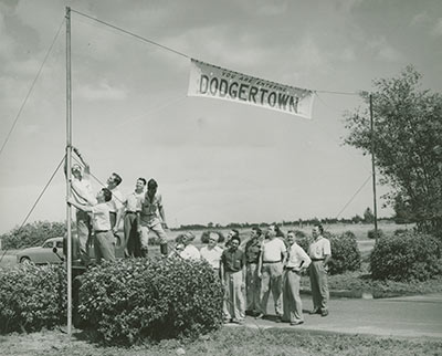 Dodgertown sign 1948