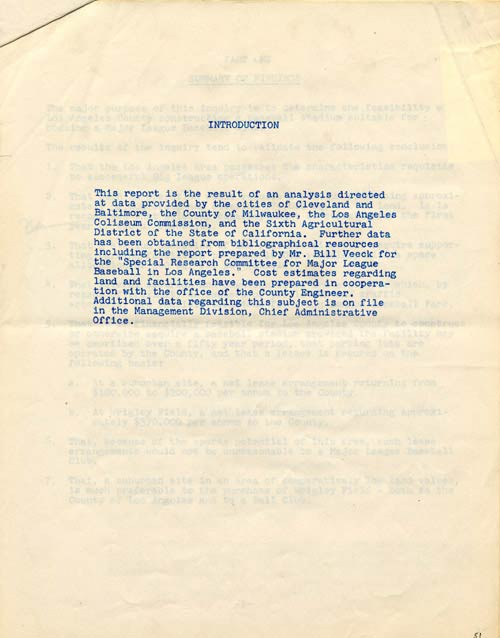 Report of Findings - Chief Administrative Office of Los Angeles CountyThe Chief Administrative Office of Los Angeles County publishes its 1955 