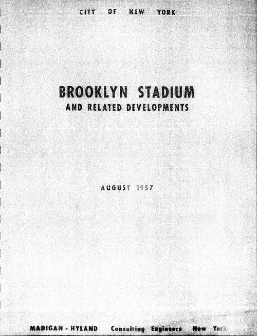 Brooklyn Stadium and Related DevelopmentsThe Consulting Engineering firm of Madigan-Hyland in New York City 