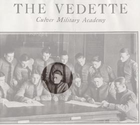 At Culver Military Academy, Walter O'Malley was associate editor of the school's newspaper, The Vedette.