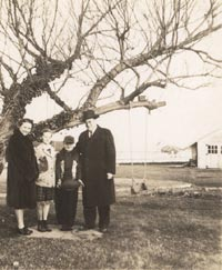 The O'Malley family at Amityville, Long Island, NY.