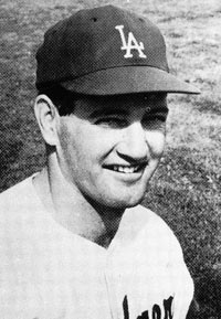 One of the many heroes of the 1963 season was rookie Dick Nen, who played in a total of seven games for the Dodgers, but hit a crucial home run on September 18 against the St. Louis Cardinals to push the Dodgers four games ahead in the standings on their way to capturing the N.L. Pennant.