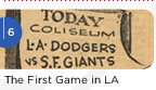 The First Game in LA