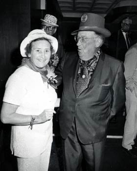 The First Lady of the Dodgers Kay O'Malley and Walter O'Malley always looked forward to hosting friends, executives and staff members at Dodgertown St. Patrick's Day parties.
