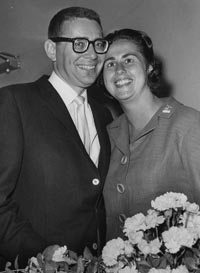 Eugene and Roz Wyman in the 1950s.