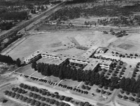 Before Walter O'Malley built a stadium for the Dodgers at Dodgertown, several more primitive fields were in use at the complex and available for practices and exhibition games.