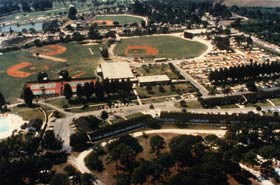 Modernized and developed by Walter O'Malley and later by his son Peter, Dodgertown remains the state-of-the-art spring training home of the Dodgers.