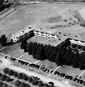Upon their arrival to Dodgertown in Vero Beach in 1948, the Dodgers were housed in the barracks of the former U.S. Naval Air base.