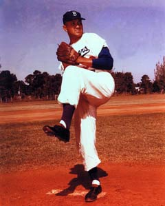 Don Newcombe was an all-time great pitcher for the Dodgers, having won 20 games in a season on three occasions. Newcombe is the last pitcher to have started both games of a doubleheader.