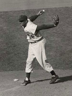 When he started Game 1 of the 1949 World Series, Don Newcombe was only the second rookie pitcher to accomplish this feat and he was the first African-American to start a World Series game.