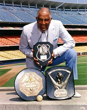 Don Newcombe is the only recipient of three of baseball's most significant awards - the Rookie of the Year (1949), Cy Young (1956) and National League Most Valuable Player (1956).