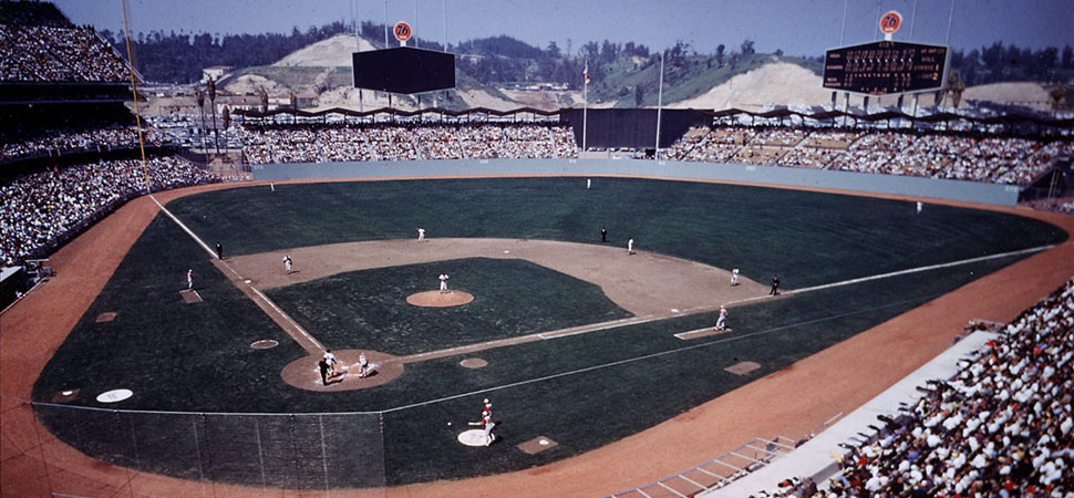 Walter O'Malley : Dodger Stadium : Opening Day: April 10, 1962 ...