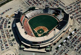 1953 — 2000 MILWAUKEE COUNTY STADIUM, Milwaukee Braves (1953-65), Brewers (1970-2000)